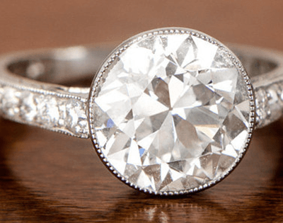 A Spectacular, Antique Diamond Ring for a Truly Special Person