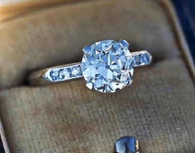 Heirloom Vintage Engagement Ring