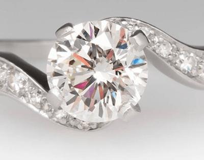 Unique, Spectacular Vintage Diamond Ring